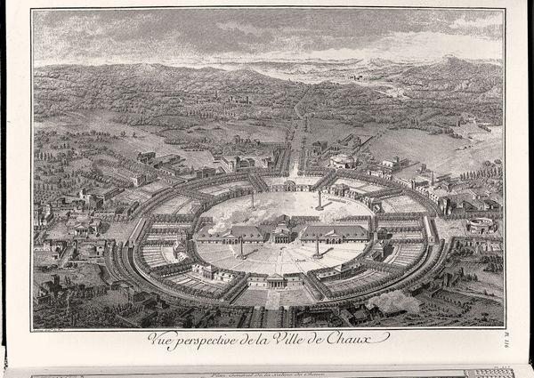 """La """"ville idéale"""" imaginée par l'architecte Ledoux"""