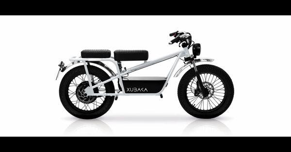 La Xubaka, petite moto électrique au look rétro, construite par Sodium Cycles