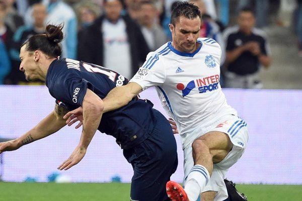 Jérémy Morel durant le dernier match contre le PSG