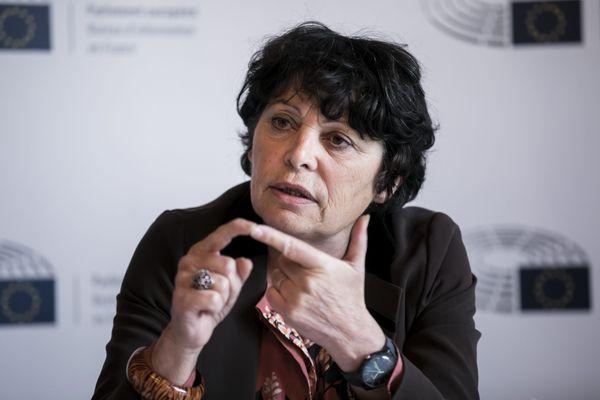 l'eurodéputée verte Michèle Rivasi (image archives)