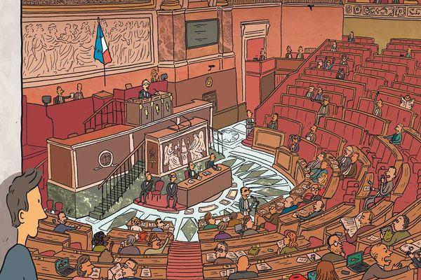Dans les coulisses de l'Assemblée nationale