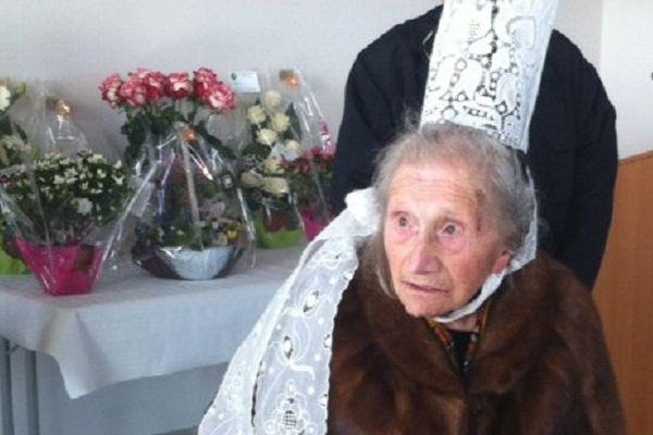 La Bigoudène Marie Pochat a fêté ses 100 ans ce 29 février 2016