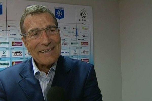 Gérard Bourgoin, président de l'AJ Auxerre de 2011 à avril 2013, fut très critiqué par les supporters ajaïstes.