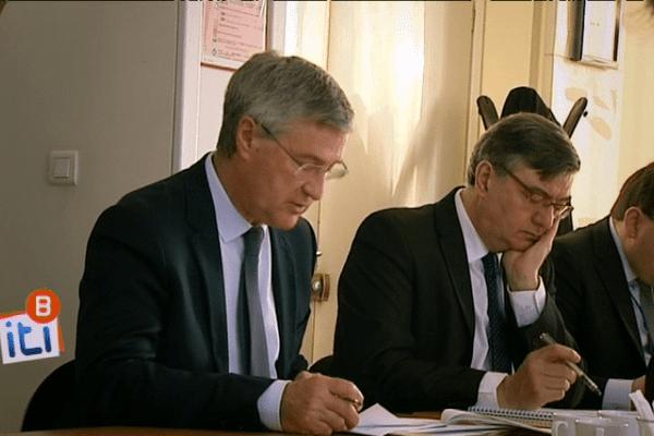 Tous les lundis matin, le préfet d'Ille-et-Vilaine et de région, Patrick Strzoda, se réunit avec ses collaborateurs les plus proches, notamment les sous-préfets.