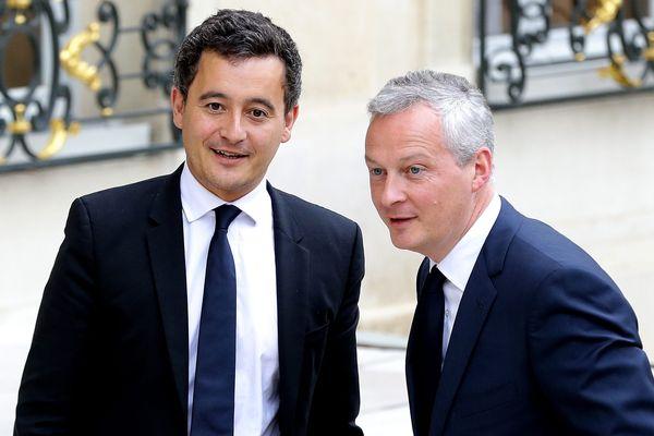 Gérald Darmanin et Bruno Le Maire favorables à une proposition de Xavier Bertrand.
