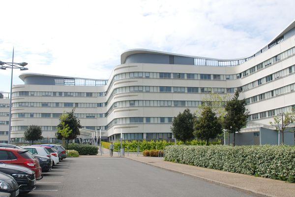 L'hôpital du Scorff, à Lorient