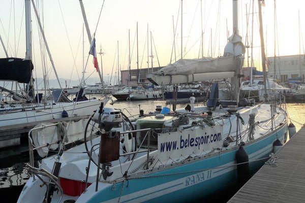 Le Rana II mesure 15 mètres. Il a été volé dans le port de l'Estaque, à Marseille