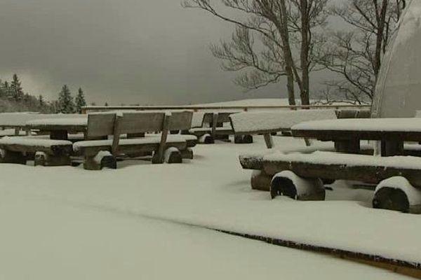 De la neige au Markstein