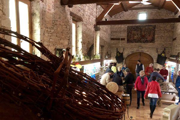 L'atelier décoration est situé à Davayé (Saône-et-Loire)