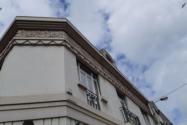 Rue Louis Bégué, détail, Roland Derouet