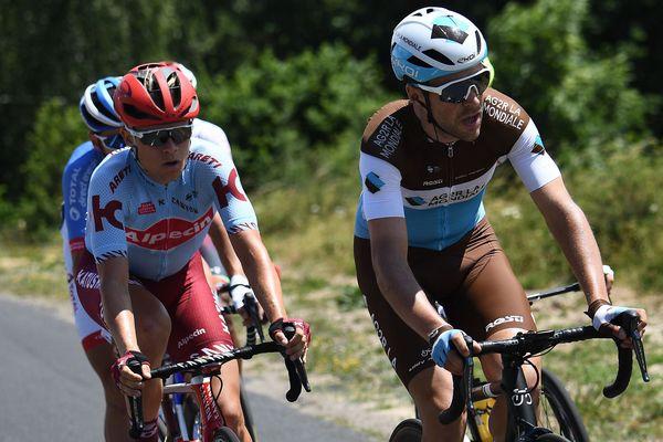 Tony Gallopin sur le Tour de France 2019