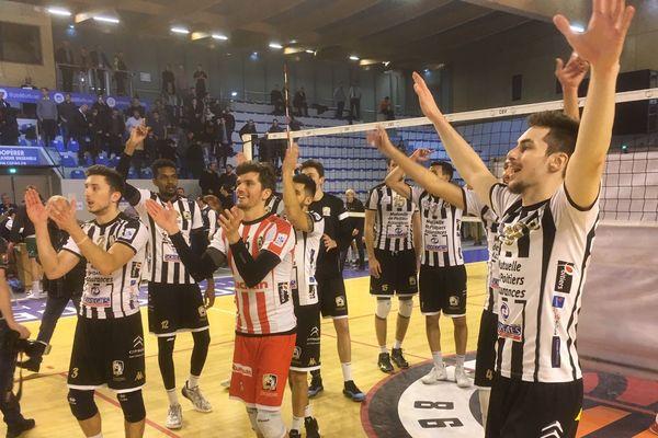 Les volleyeurs poitevins décrochent une place en demi-finale de coupe d'Europe