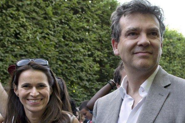 Arnaud Montebourg et Aurélie Filippetti le 21 juin 2014
