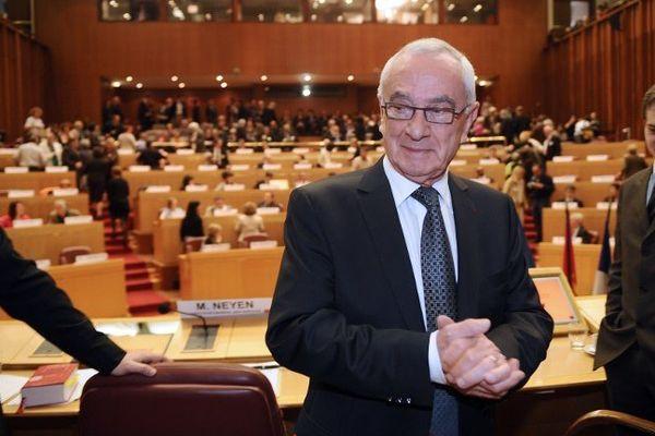 Martin Malvy, président PS de la région Midi-Pyrénées