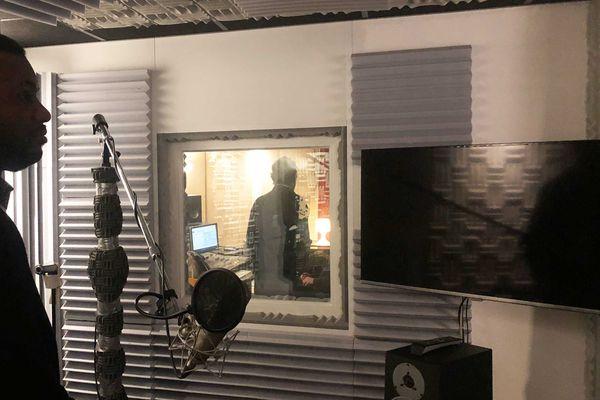 Immersion dans le studio VOA, le 14 janvier dernier