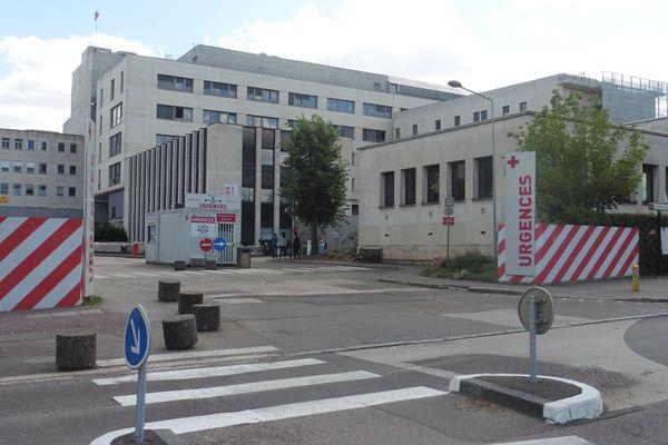 Le service des Urgences du CHU de Dijon