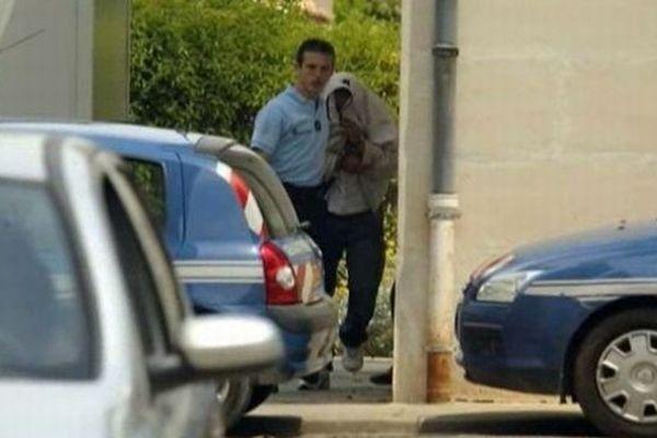 Nîmes : Kamel Bousselat, le ravisseur de Chloé est de retour d'Allemagne en France - novemrbre 2012.