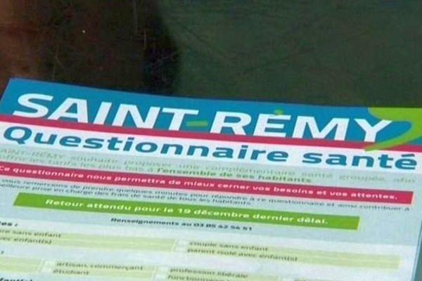 La ville de Saint-Rémy, en Saône-et-Loire, veut négocier au meilleur prix une mutuelle santé pour l'ensemble de ses habitants.