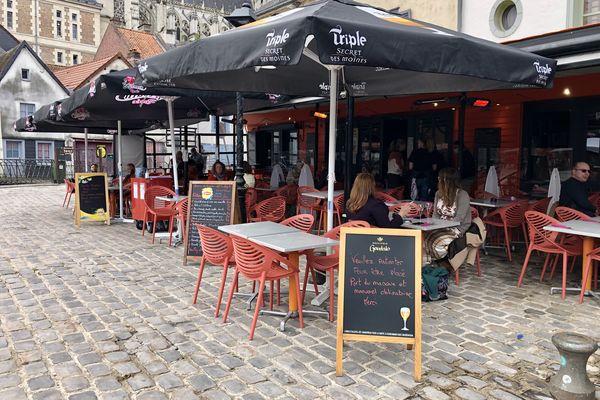 Les premiers clients sont venus dès 10h au restaurant Ad Hoc à Amiens mercredi 19 mai