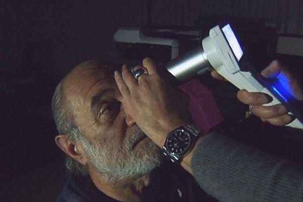Un test de rétinopathie différé à distance est pratiqué en Dordogne depuis 2 ans...