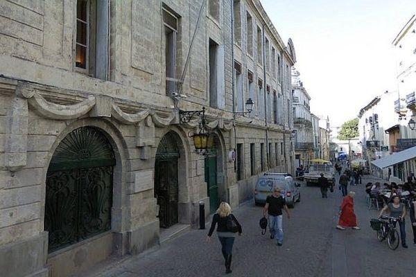 Montpellier - le rectorat et l'inspection académique de l'Hérault - archives