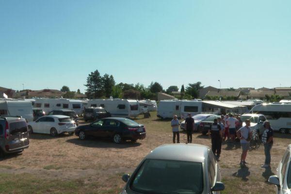 Les gens du voyage se sont installés depuis 10 jours à Marsillargues