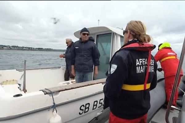 Tout l'été, les contrôleurs des affaires maritimes veillent à la sécurité des plaisanciers