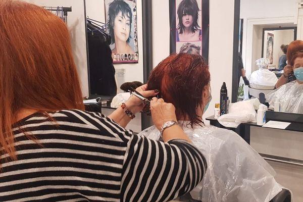 Les coiffeurs retrouvent leurs clients
