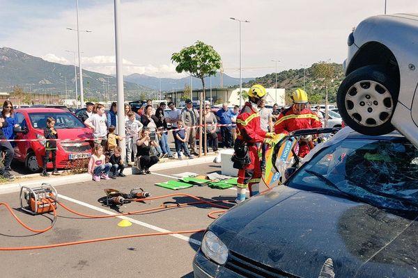 Les pompiers de Corse-du-Sud participent pour la troisième année consécutive au championnat de désincarcération. Cette année la compétition se déroule en Espagne.