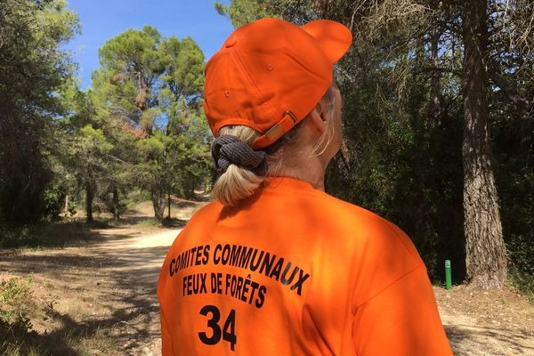 Prades-le-Lez (Hérault) - les 1.200 bénévoles des comités feux de forêt de l'Hérault ont cessé leur surveillance active le 16 septembre - septembre 2018.