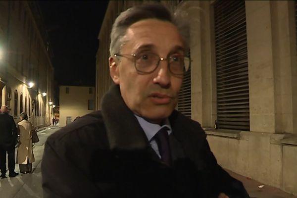 Philippe Pétel, ex-doyen de la faculté de droit de Montpellier