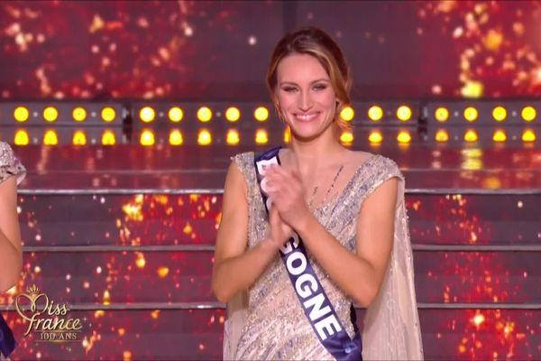 Lou-Anne Lorphelin a terminé quatrième dauphine de l'élection de Miss France 2021.