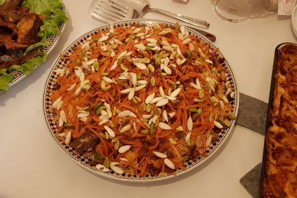 Plat afghan à base de riz basmati pour le Ramadan