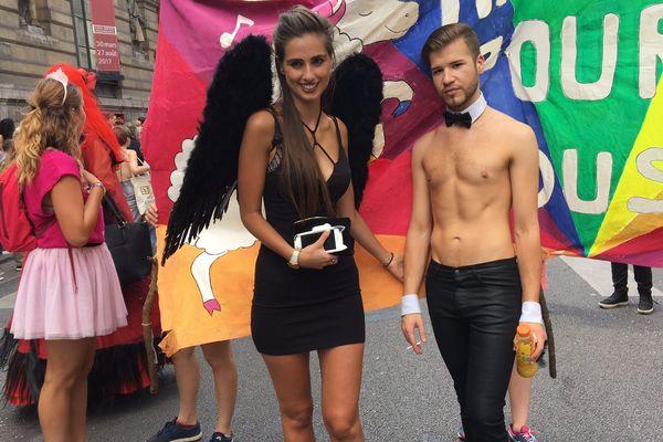 L'édition 2017 de la Marche des fiertés parisienne.