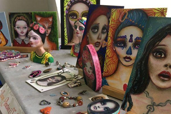 Retrouvez jusqu'au 20 mai à la Ferronnerie de Dijon des créations originales d'artistes passionnés.