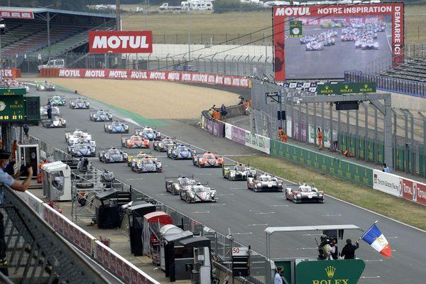 59 voitures ont pris le départ de la 88e édition des 24 heures du mans, le 19 septembre 20