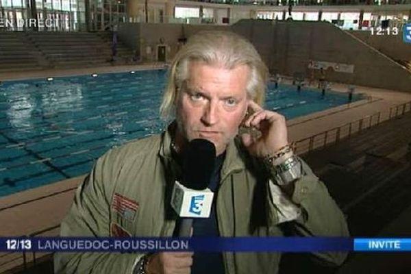 Philippe Lucas, invité du 12/13 de France 3 Languedoc-Roussillon - 5 novembre 2015