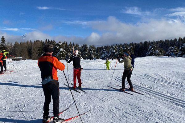 Le domaine nordique de Gap-Bayard (05), prêt à accueillir les amateurs.