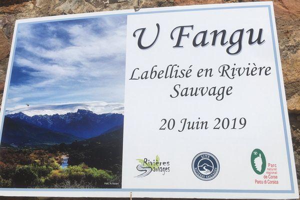 "Le Fangu a été labellisé ""rivière sauvage"" jeudi 20 juin à Galeria."