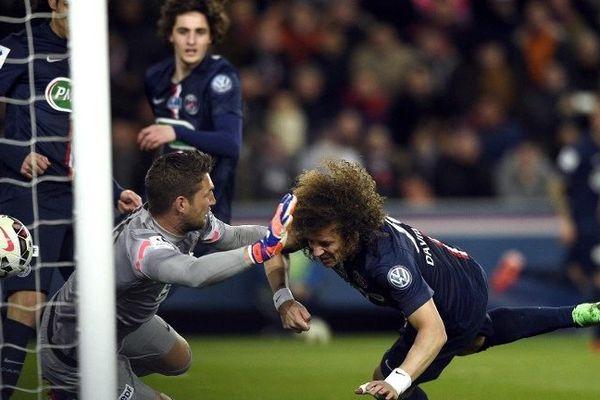 PSG contre Monaco (2-0), le 4 mars 2015