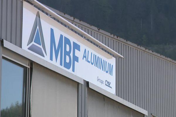 La fonderie MBF à Saint-Claude dans le Jura.