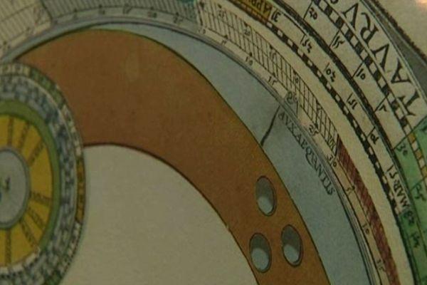 Ouvrage animé d'astronomie, 16e siècle