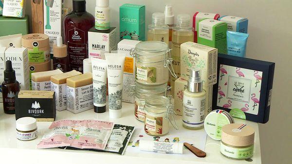 Du gel douche au dentifrice, 250 produits sont proposés à la vente par Cocoricosmetic, garantis 100% naturels, bio, et français