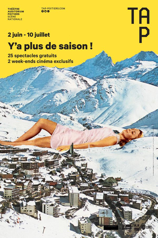 """Affiche du TAP """"Y'a plus de saisons !"""""""