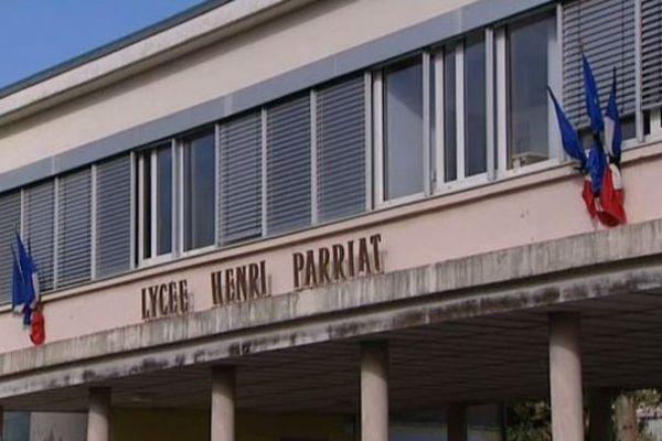 L'établissement Henri Parriat à Montceau-les-Mines en Saône-et-Loire, lundi 16 novembre 2015.