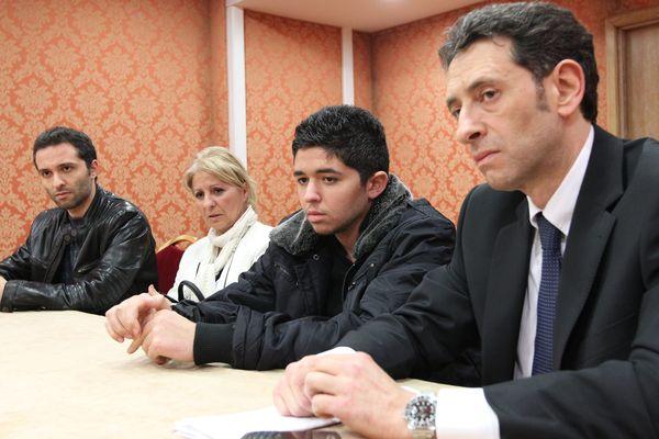 Tuerie de Toulouse : audition des parties en 2012 Bryan Bijaoui et son avocat maître Soussi.