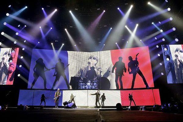 Le groupe Scorpions en concert à Lyon le 30/11/2015