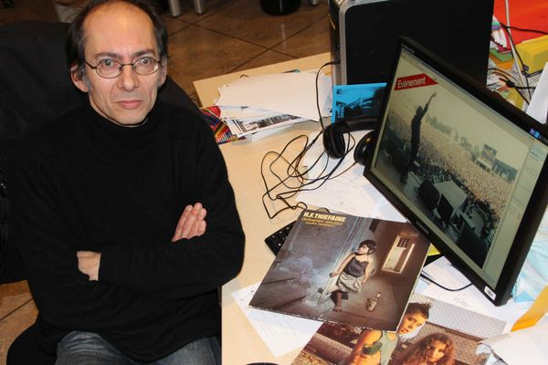 Michel Buzon journaliste rédacteur à France 3 Franche-Comté