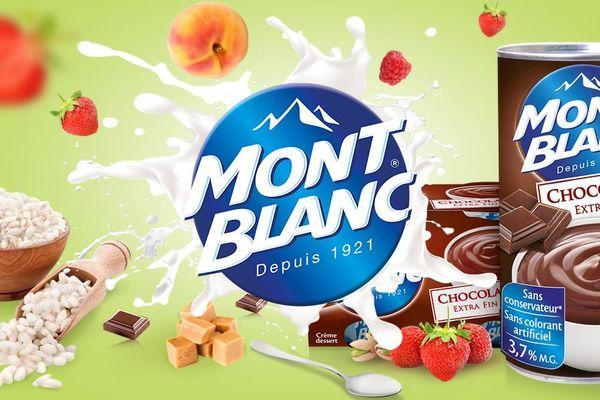 Il marchio Mont Blanc è ben noto agli amanti dei dolci.  L'azienda è nata a Hot-Savoy e puoi trovare Massif nel logo del marchio
