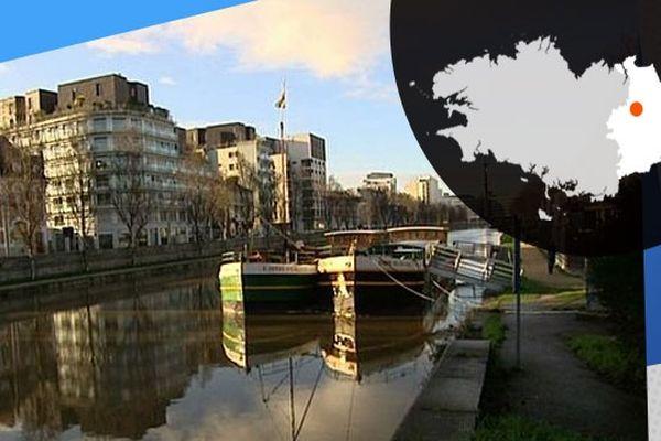 Sur les bords de la Vilaine, à Rennes